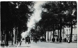 Bruxelles - Boulevard Du Régent - Avenues, Boulevards