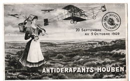 "Spa Aviation Malchamps - 20 Septembre Au 5 Octobre 1909 // Antidérapants ""Houben"" - Spa"