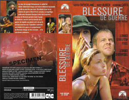 """""""BLESSURE DE GUERRE"""" -jaquette SPECIMEN Originale CIC VIDEO -a Soldier's Sweetheart - Action, Adventure"""