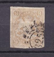Bayern - 1867 - Michel Nr. 17 - Gestempelt - 55 Euro - Beieren
