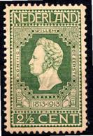 PAYS-BAS - (Royaume) - 1913 - N° 82 à 84 - (Lot De 3 Valeurs Différentes) - (Guillaume I, II Et III) - Unused Stamps