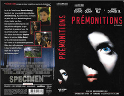 """PREMONITIONS"" -jaquette SPECIMEN Originale CIC VIDEO -in Dreams - Drama"