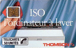 France - 1989 - 01/89 - F046B Bis - Iso Thomson Offset Glacée - Used - CN: 104375 - Look Scans - 1989