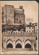 °°° 24243 - SIENA - FONTEBRANDA CON VEDUTA DI S. DOMENICO - 1935 °°° - Siena
