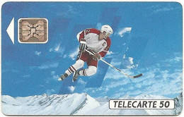France - 1991 - 10/91 - F193 - Hockey - Used - CN: 32832 - Look Scans - 1989