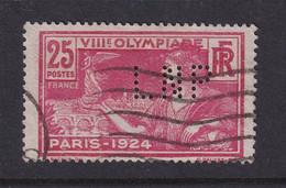 Perforé/perfin/lochung France No 184  LNP Lloyds National Provincial - Perforadas