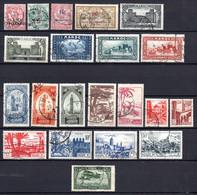 Colonies Françaises Maroc 1902/1951  27 Timbres Différents   1,10 €   (cote 13,30 €  27 Valeurs) - Used Stamps