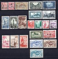 Colonies Françaises Maroc 1902/1951  22 Timbres Différents   1 €   (cote 11,90 €  22 Valeurs) - Used Stamps