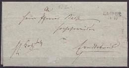 1841 LASPHE L2 Kreis Siegen-Wittgenstein Brief Mit Inhalt    (5698 - Sin Clasificación