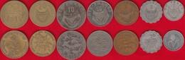 Rwanda Set Of 7 Coins: 1 - 50 Francs 1970-1987 - Rwanda