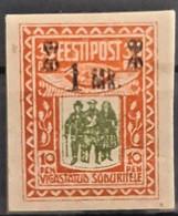 ESTONIA 1920 - MNL - Sc# B3 - 1Mk - Estonie