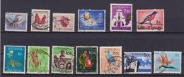 AFRICA DEL SUD REPUBBLICA 1961 SERIE ORDINARIA SOGGETTI DIVERSI YVERT. 248-260 USATA VF - Oblitérés