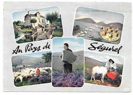19 - Au Pays De Ségurel - Multi Vues : LES MONÉDIÈRES - Accordéon, Chèvre Et Moutons - 1966 - Non Classés