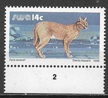 AFRICA DEL SUD-OWEST 1986 SERIE ORDINARIA YVERT. 544 MNH XF - Nuevos
