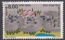 ISRAELE - 1983 - Yvert 865 Usato. - Oblitérés (sans Tabs)