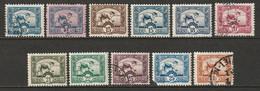 Indochina 1931-41 Sc 158-66  Set Mid Values MH*/used - Ungebraucht