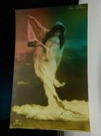 Vaudeville Actress Ida Fuller Divided Back Postcard Calcium Light Posted 1907 EX - Donne Celebri