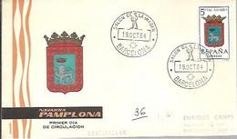 MATASELLOS  1964 TEMA CINE - 1961-70 Cartas