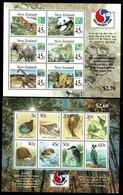 New Zealand 1994 PHILAKOREA 1994 Wildlife & Birds Minisheets MNH - Ungebraucht