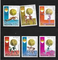 COREE DU NORD 1976 JO MONTREAL  YVERT N°1392G/M   OBLITERES/CTO - Summer 1976: Montreal