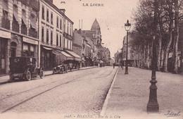 """ROANNE """" Rue De La Cote Animée """"        N°10231 - Roanne"""