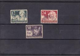 Generalgouvernement (GG): MiNr. 56-58 Gestempelt Komplett Krakau - Occupazione 1938 – 45