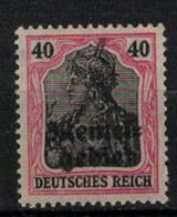 MEMEL       N°  YVERT  :      8   NEUF SANS GOMME    ( SG  1/01 ) - Unused Stamps
