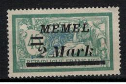 MEMEL       N°  YVERT  :      69   NEUF SANS GOMME    ( SG  1/02 ) - Unused Stamps