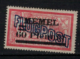 MEMEL       N°  YVERT  :     PA 2   NEUF SANS GOMME    ( SG  1/02 ) - Unused Stamps