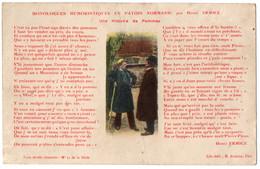 CPA Folklore. Monologues En Patois Normand - Une Histoire De Pommes - Henri Ermice N°11 - Altri