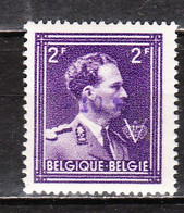 724O**  Leopold III Col Ouvert Surchargé -10% - FRASNES LEZ BUISSENAL - MNH** - LOOK!!!! - 1946 -10%