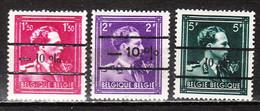 724N/P**  Leopold III Col Ouvert Surchargé -10% - DOTTIGNIES - Série Complète - MNH** - LOOK!!!! - 1946 -10%