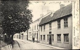 CPA Mönsterås Schweden, Storgatan, Buchhandlung - Zweden