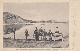 FANANO-MODENA-LAGO SCAFFAIOLO-BELLISSIMA ANIMAZIONE-CARTOLINA VIAGGIATA IL 17-3-1910 - Modena