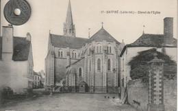 44 -Très Belle Carte Postale Ancienne De  Saffré  L'Eglise - Other Municipalities