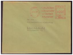 Dt-Reich (005546) Propaganda Brief Freistempler Berlin Das Oberste Ehren- Und Disziplinarhof Der Deutschen Arbeitsfront - Storia Postale