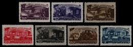Russia / Sowjetunion 1948 - Mi-Nr. 1261-1267 ** - MNH - Maschinenbau - Unused Stamps