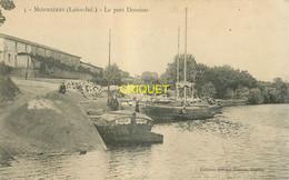 44 Monnières, Port Domino, N° 1, Gabares Amarrées Au 1er Plan ( Dont L'Eugénie ), Carte Pas Courante - Altri Comuni