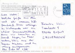 Frankreich NardonneMWST 2007 Ville Latine Mi. 4351 Marianne - Lettres & Documents