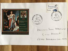Paris Bicentenaire Code Civil Bloc Vignette Carré Marigny Marché Aux Timbres 2004 - Napoleon