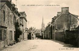 Bécherel * Route D'arrivée De La Gare * Rue - Bécherel