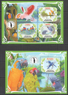 PA031 2019 PARROTS BIRDS FAUNA BL+KB MNH - Parrots