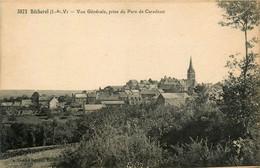 Bécherel * Vue Générale Prise Du Parc De Caradeuc * Panorama - Bécherel