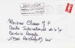 France,  De La Rochelle  En 1992 Pour Rochefort  Griffe Taxe à 4,7 F - 1960-.... Storia Postale