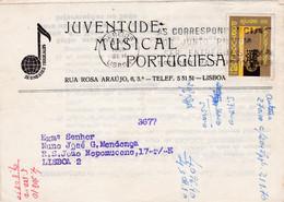 JUVENTUDE MUSICAL PORTUGUESA - Briefe U. Dokumente