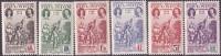 Réunion N° 180 à 185 ** Tricentenaire Du Rattachement à La France - Unused Stamps
