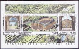 DENEMARKEN 2004 Blok 300 Jaar Frederiksborg GB-USED - Gebraucht
