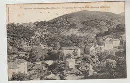 Hérault Environs De SAINT GERVAIS SUR MARE Vue Générale De COURS LE HAUT Montagne De Nébuzon - Altri Comuni