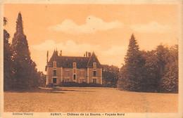 AUNAY - Château De La Baume - Façade Nord - Très Bon état - Otros Municipios