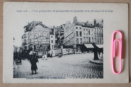 BRUXELLES : Entrée De La Rue De La MADELEINE En 1908 - Brussel (Stad)